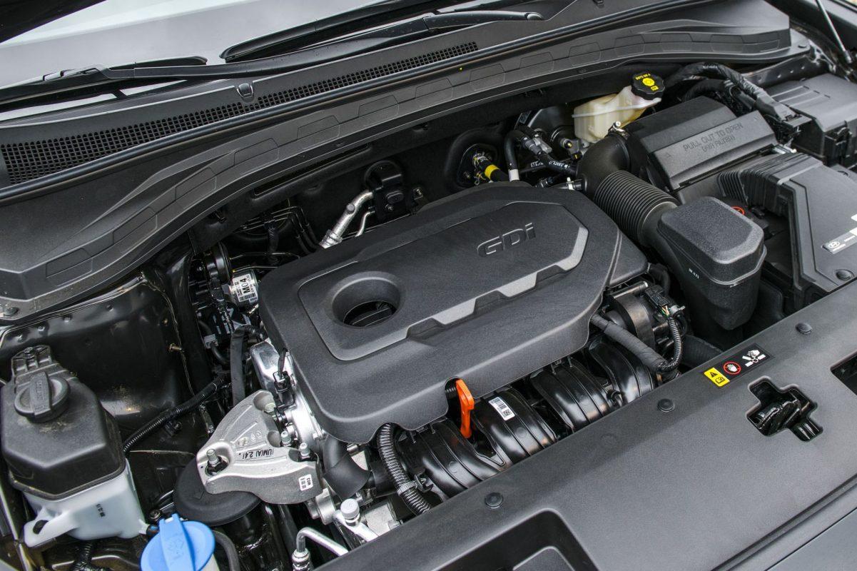 động cơ santafe 2019 - Hyundai Tây Ninh