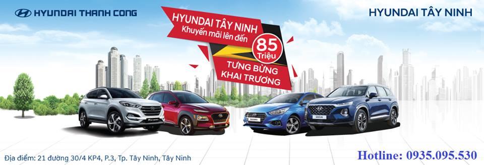Hyundai Tây Ninh chính thức khai trương
